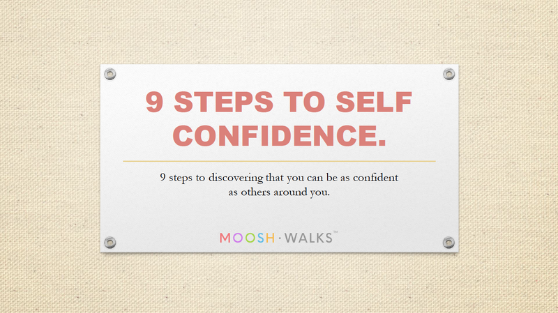 9 Steps to Self-Confidence