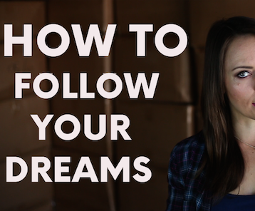 How To Follow Your Dreams - Moosh Walks Journey (VIDEO)