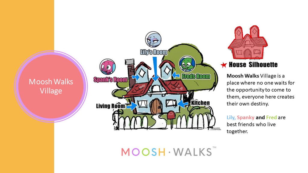 Moosh Walks Village story