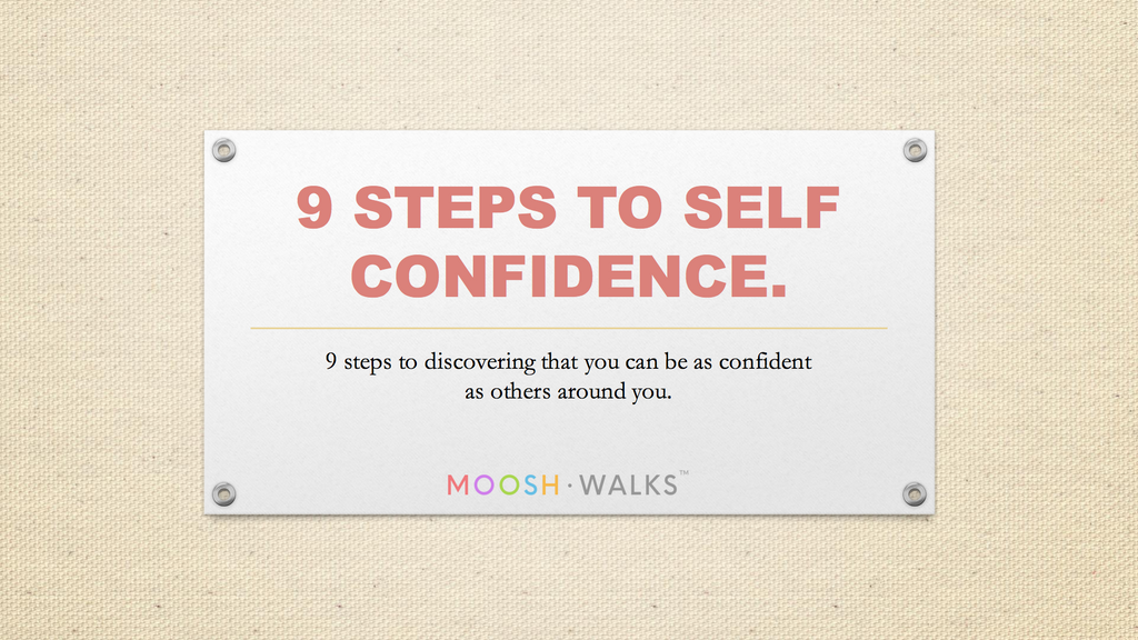steps to self confidence