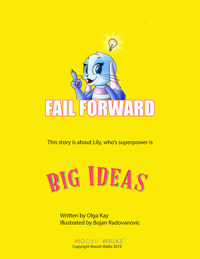 FAIL FORWARD - Coloring Book with story
