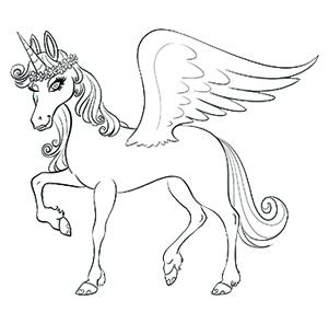 BILLIE Magical Unicorn | Coloring Pages | Kids and Adults ...
