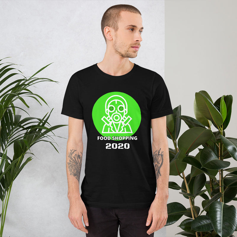 FOOD SHOPPING 2020 | Pandemic t-shirt | Face mask