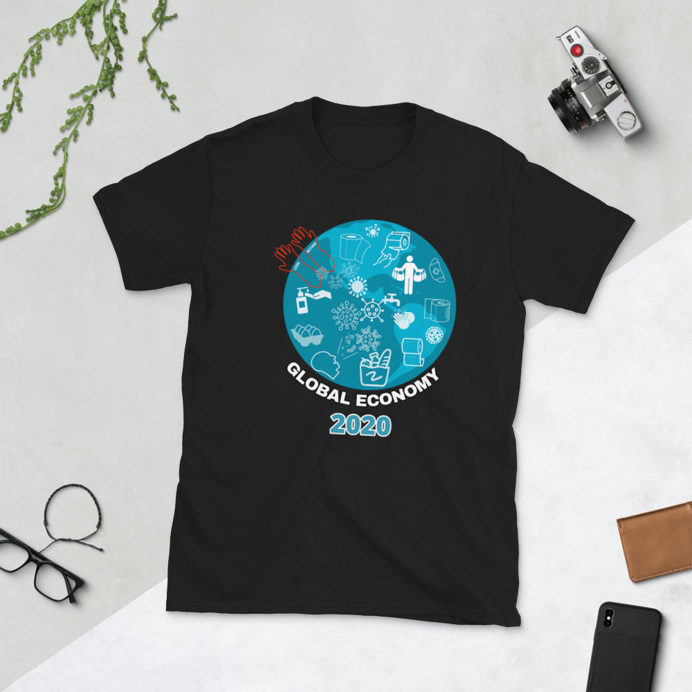 GLOBAL ECONOMY 2020 | Pandemic tshirt