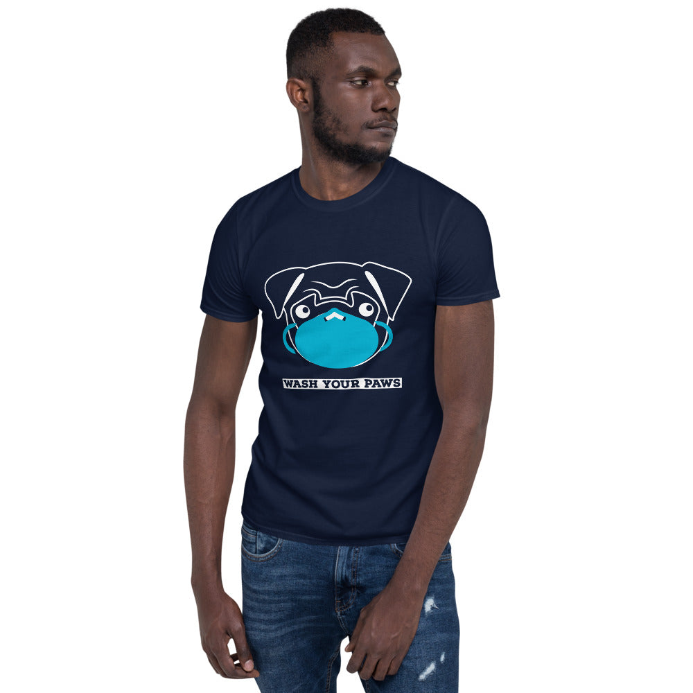 WASH YOUR PAWS | Pandemic Tshirt | PUGS