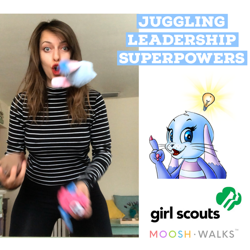 JUGGLING LESSON + 3 SCARVES | GSCNC
