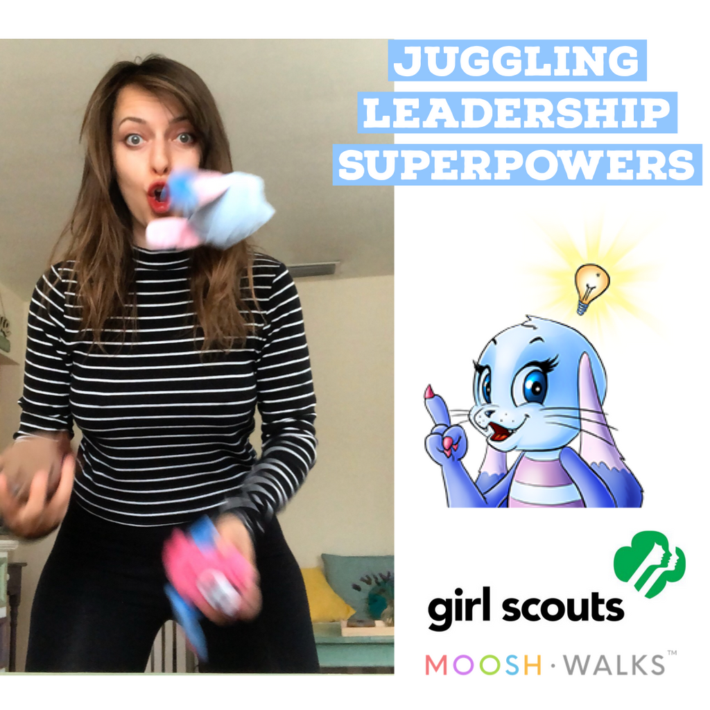 JUGGLING LESSON + 3 SCARVES (GSNC)