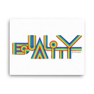 Equality by Lisa Marie Thalhammer Canvas Print