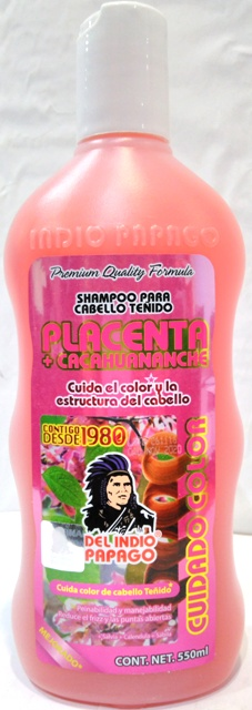 Shampoo Placenta Cacahuananche 550 Ml