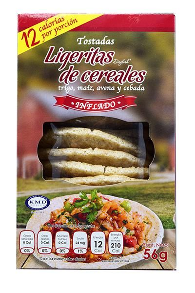 Ligeritas De Cereal 56 G Daylish