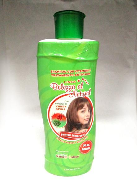 Shampoo Extracto Chile Y Savila 550 Ml