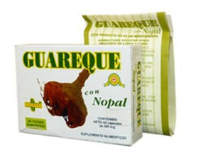 Guareque Con Nopal 60 Cap