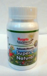 Super C Natural 1000 Mg 60 Tab