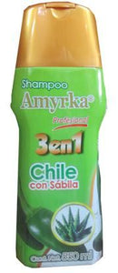 Shampoo Chile Con Sabila 550 Ml