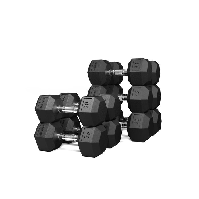 Synergee Rubber Hex Dumbbell Sets