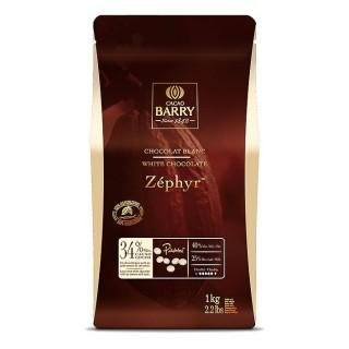 Chocolat Cacao Barry Blanc Zephyr
