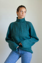 Load image into Gallery viewer, Vintage 90s green wool rollneck sweater // XXL (1113)