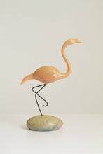 Load image into Gallery viewer, Vintage 80s John Perry Moon Egg flamingo figure (D204)