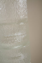 "Load image into Gallery viewer, Vintage clear glass textured ""old fashioned"" glassware (D244)"