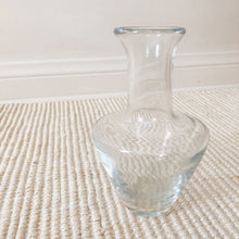 Load image into Gallery viewer, Vintage heavy glass vase (D149)