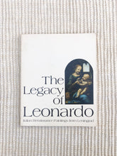 Load image into Gallery viewer, Vintage 1970s The Legacy of Leonardo book (D170)