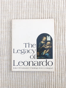 Vintage 1970s The Legacy of Leonardo book (D170)