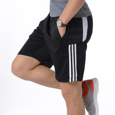 Gym Mens Sport Running Shorts Quick Dry Stripes Crossfit Short Pants GYM Wear Men Soccer Tennis Training Beach Shorts