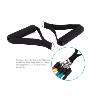 Natural Latex Belt Resistance Band Stretch Bands