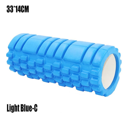 Yoga Column Fitness Pilates Yoga Foam Roller blocks Train Gym muscle Massage Grid Trigger Point Therapy Physio Exercise