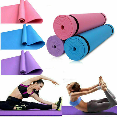 EVA Yoga Mat Fitness Environmental Gymnastics Mat Non Slip Carpet Pilates Gym Sports Exercise Pads for Beginner 1730*600*6mm