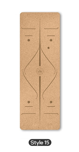 Yoga Mat 70in  Natural Cork