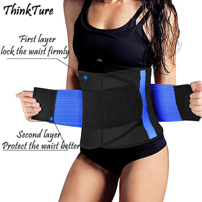 Elastic Sweat Weight Loss Support Waist Belt