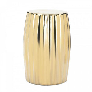 Gold Decorative Stool