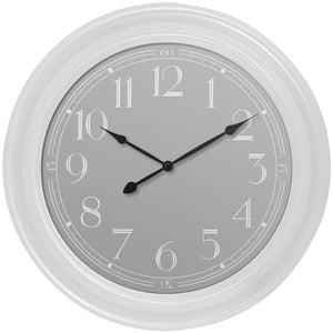 Westclox White Wall Clock
