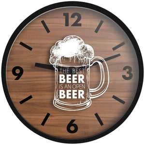 Westclox 16-inch Beer Wall Clock