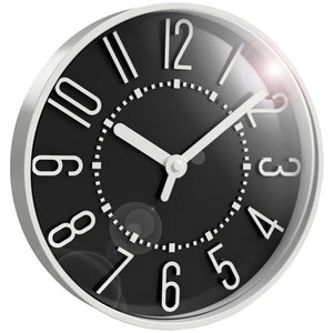 Westclox 10-inch Black Wall Clock