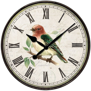 Westclox 12-inch Bird Wall Clock