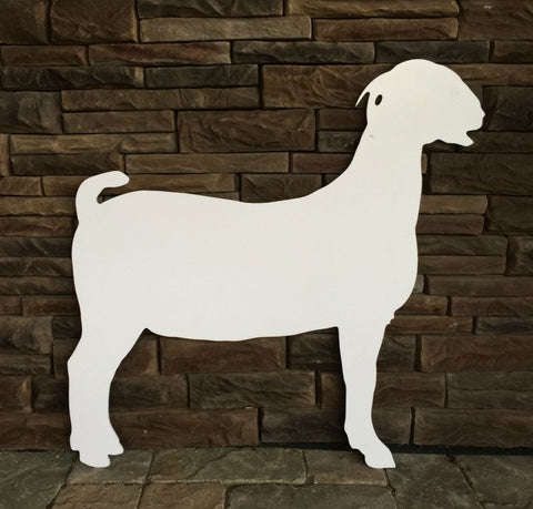 Goat Sign Cutout
