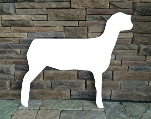 Lamb Sign Cutout
