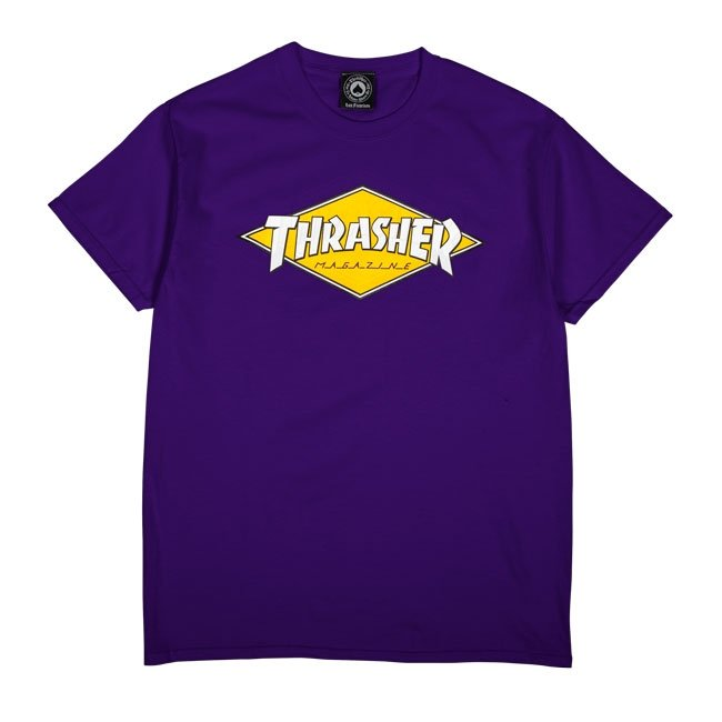 Diamond Logo T-Shirt (Purple)
