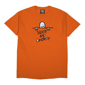 Gonz SAD Logo T-Shirt (Orange)