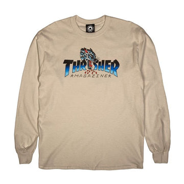 Leopard Mag Long Sleeve (Sand)