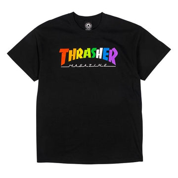 Rainbow Mag T-Shirt (Black)