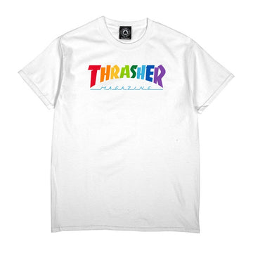 Rainbow Mag T-Shirt (White)