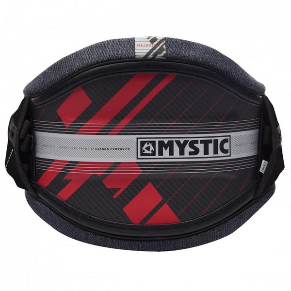 Red 2019 Mystic Majestic X Kiteboarding Waist Harness