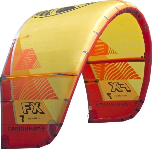 Orange/Red 2019 Cabrinha FX Kite