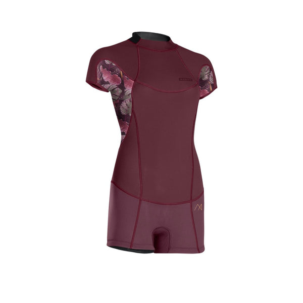 2018 Ion Muse Hot Shorty Short Sleeve Back-Zip 2.0 Wetsuit