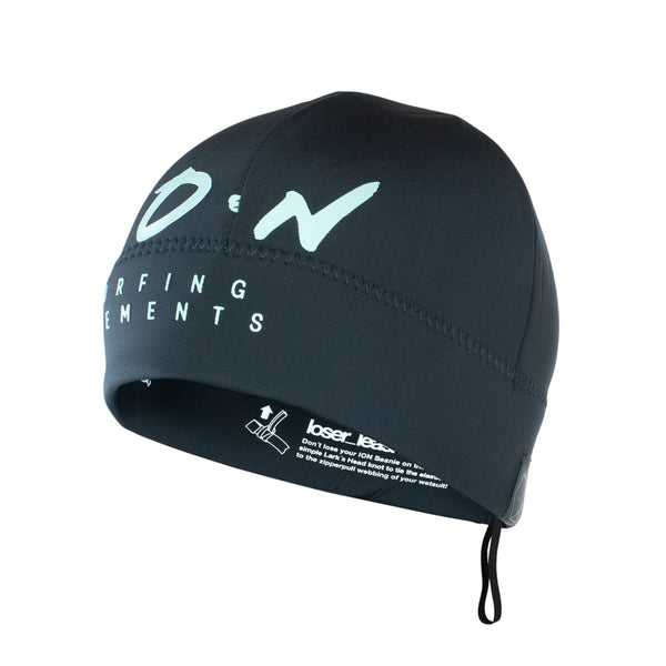 ION Neoprene Logo Kiteboarding Beanie Dark Blue