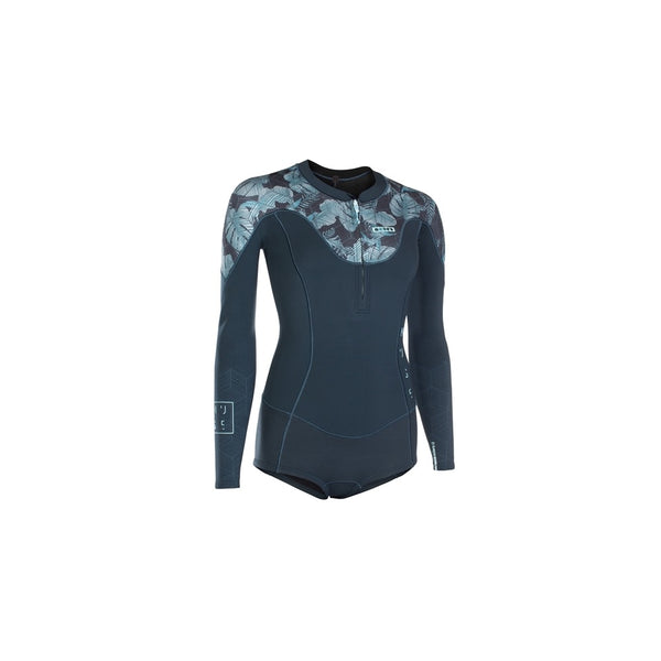 2019 Ion Muse Hot Shorty Long Sleeve 1.5 Front Zip Wetsuit