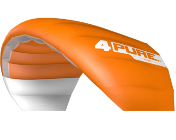Orange Ozone Pure V1 Snow Kite